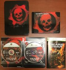 Gears Of War Limited Collectors Edition Xbox 360 Tin Case