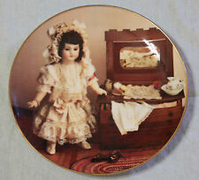 Gorham Yesteryears Doll Museum Jumeau TETE JUMEAU 9 Plate vintage 1985 excellent