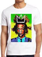 Jean Michel Basquiat T Shirt Graffiti Artist Art Vintage Cool Gift Tee 178