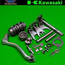 2009 Kawasaki KX250F Transmission Shift Shaft Shifter Forks Drum Cam Pedal Lever