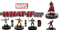 Heroclix Marvel What If? #025 TV'S SPIDER-MAN, 023 IRON PUNISHER, 015, 003, 001