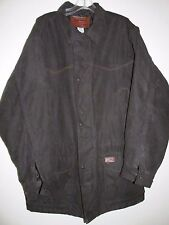Outback Black Trading Co Bush Outfitters Quilt Lined Zip Front Snaps Men's L N13