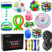 Sensory Fidget Toys Bundle-DNA Stress Relief Balls Toys for ADHD Autism Anxiety