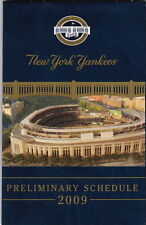 New York Yankees Vintage Baseball Schedules