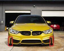 BMW 3 SERIE M3 M4 F80 F82 F83 autentico M PARAURTI ANTERIORE LATERALE GRIGLIE sinistra destra