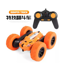 LH-C014 Waterproof Stunt Racing RC Car with 800mAh/ 3.7V Rechargeable - Orange