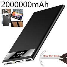 Dual USB 2000000mAh Slim Portable Power Bank External Battery Charger for Phone