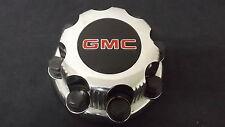 GMC 8 Lug Sierra Suburban Yukon OEM Wheel Center Cap 15039488 Aluminum Wheel