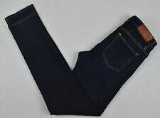 Bottes ACNE JEANS Flex Wet Blue S Slim Fit Denim pantalon W29 L32