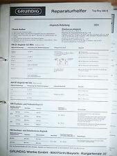 Service-Manual Grundig Top Boy 500  Radio,ORIGINAL