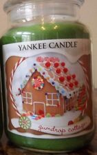 "Yankee Candle "" GUMDROP COTTAGE""   - 22 oz. 1 SINGLE  NEW   SALE!!!"