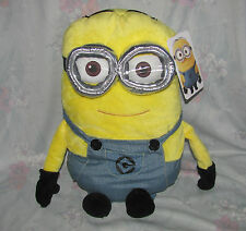 """Despicable Me Minions Plush Toy Pillow 18"""" Large - 2 Eyes, Googles, Tags"""
