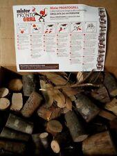 Tronchetti legna barbecue, per carne con rosmarino e alloro
