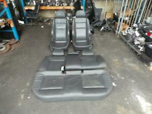 HOLDEN ASTRA BLACK LEATHER FRONT & REAR SEATS, COUPE, 10/04-08/09