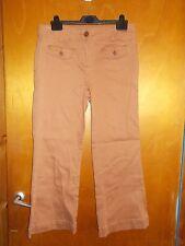"M&Co Cotton Rich Petite KickFlare Jeans w/Stretch 14 L27"" Cinnamon BNWT"