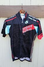 Champ System Inter Bike People Black Teal Red Women's Cycling Jersey SZ L