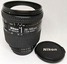 【EXC+++++】Nikon AF NIKKOR 28-105mm F3.5-4.5D Zoom Lens from JAPAN