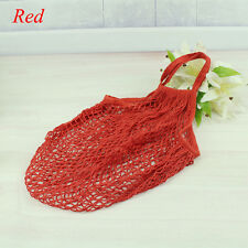 Reusable Shopping String Grocery Bag Shopper Cotton Tote Mesh Fishnet Woven Bag