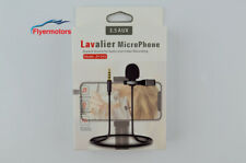 Professional Lavalier Lapel Microphone for Youtube Podcast Webinar Skype