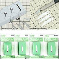 MADWORKS Light Line Engraver Blade 0.5mm for Tamiya 74040 OLFA AK-4 Pen Knife