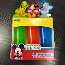 Disney Mickey Mouse Clubhouse Popsicle Maker Mold and Stand