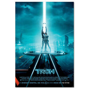 Tron Legacy Poster - Official Art - High Quality Prints