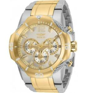 Invicta Bolt 31163 Men's Round Analog Chronograph Date Two-Tone Watch