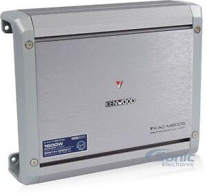 Kenwood KAC-M8005 1600W RMS 5-Channel Marine Boat Amp RTV UTV Audio Amplifier