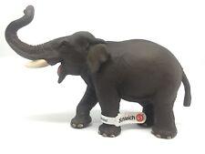 Vida silvestre de Schleich 14144 Toro asiático elefante - elefante indio con dia-
