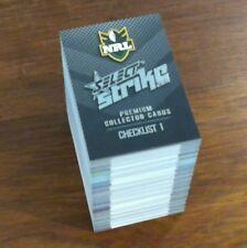 2011 Select NRL Strike Series - 196 Card Base Set