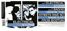 Very Rare U2 Electrical Storm Canada Live From Boston CD