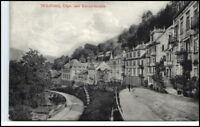 WILDBAD Schwarzwald ~1910/20 Olgastrasse Kernerstrasse alte Postkarte