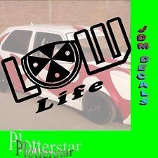 Low Life JDM Sticker Adhesivo OEM Power Fun like Shocker