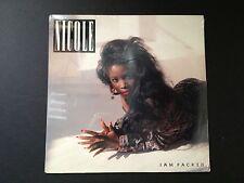 "NICOLE Jam Packed Vinyl LP Factory Sealed.""EPIC BFE 40575"