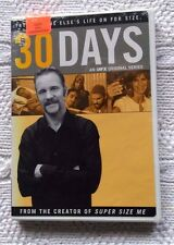 30 DAYS AN FX ORIGINAL SERIES (DVD, 2-DISC SET) R-1, LIKE NEW, FREE SHIPPING