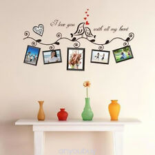 Family Tree Wall Decal Sticker Large Vinyl Photo Picture Frame Removable x1