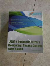 Logisys 12 V DC 4 Channel Remote Control Relay Switch