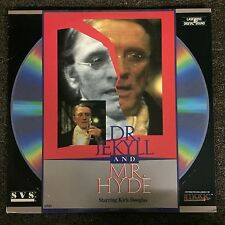 DR. JEKYLL and MR HYDE Laserdisc LD [ID7178SO] Kirk Douglas Made for TV Musical
