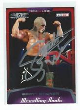 Scott Steiner Signed 2008 Tristar Tna Wwe Card #41