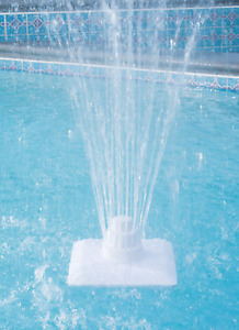 Swimming Pool Fountain Above Below In Ground Corded Electric Adjustable Stream