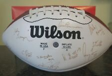 AFL Arena Football Game Ball 1998 Iowa Barnstormers Team Signed Autographed