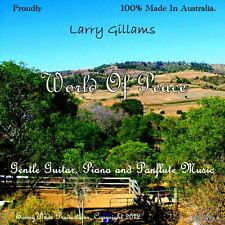 Sleep/ Meditation CD. Gentle Guitar, Piano and Panflute Music. World Of Peace.