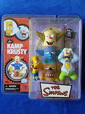 2007 McFarlane The Simpsons - Kamp Krusty - Bart And Krusty