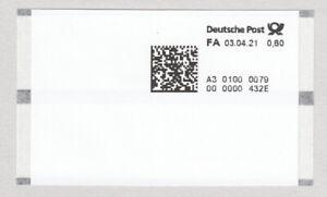 Deutschland ATM Poststation Nr. 0079 60 Cent **