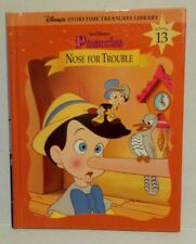 Disney's Storytime Treasures Library Vol.13 Pinocchio Hardcover Nose For Trouble