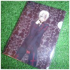 Rare!! D.Gray-man × h.NAOTO Clear File Folder Set 4 Allen Walker Yu Kanda Lavi