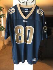NFL Isaac Bruce #80 St. Louis Rams NFL Jersey Adidas Men's Size Large Jersey