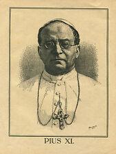 """Imagen de rancio libro """"Pabst Pío XI"""" (or1)"""
