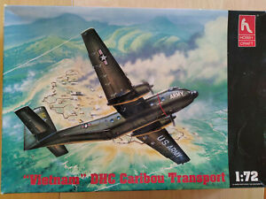 Hobbycraft 1/72 DHC 'Vietnam' Caribou with Uncle Les cockpit+RAAF+Ansett Decals,