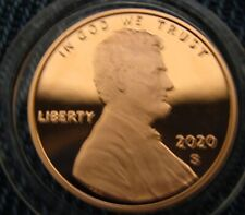 2020-s Deep Cameo Proof Lincoln Cent IN STOCK NOW! Ships in 24 Hours!